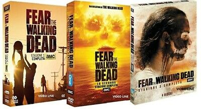 Dvd Fear The Walking Dead - Stagione 01-02-03 (10 Dvd)....NUOVO