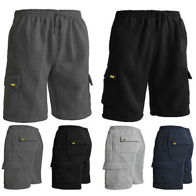Mens Tracksuit Jogging Work Cargo Shorts Size S to 5XL SPORTS WORK CASUAL 024