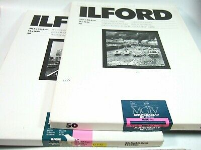 ILFORD MGIV 12x16 RC DeLuxe Multigrade Paper Glossy 25 sheets 30.5x40.6cm (3)