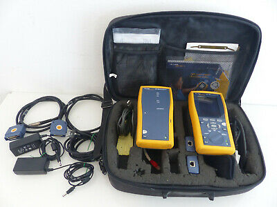 Fluke Networks DTX 1800 Cable Analyzer Smart Remote Kabel Analyator #1 M