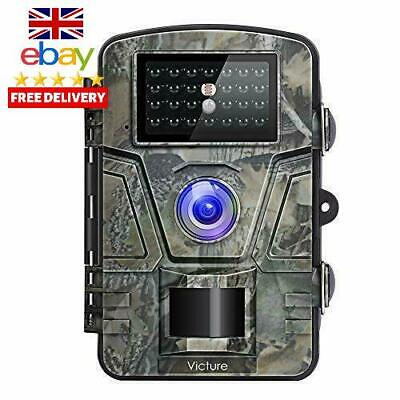 Victure Wildlife Camera 1080P 12Mp Trail Game Camera Motion Activated Night Visi