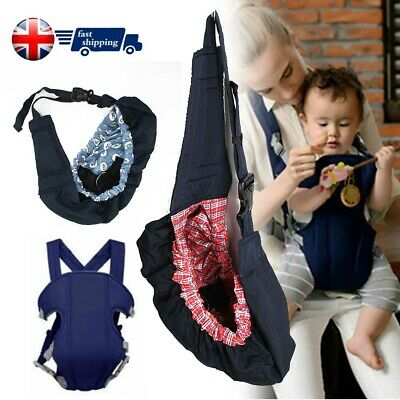 Baby Carrier Newborn Infant Sling Wrap Nursing Pouch Breastfeeding Papoose UK