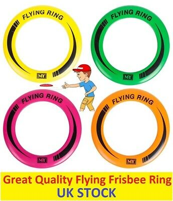 2x Frisbee Flying Ring Professional Summer Outdoor Fun Kids Pets Dog Beach Park