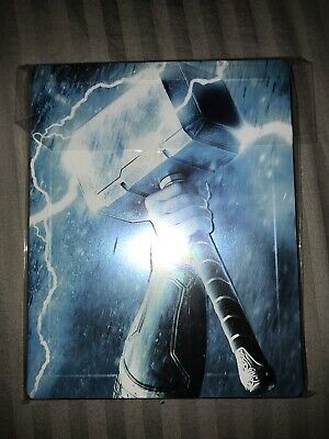 Thor Trilogy Steelbook (1-3, Three Movie Collection) Zavvi UK Exclusive