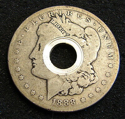Morgan Silver Dollar--------1888-------as found