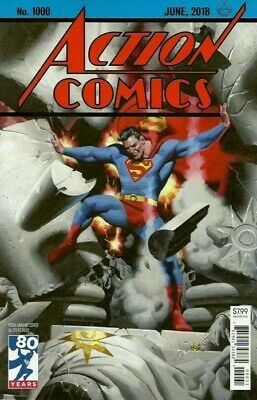 ACTION COMICS #1000 STEVE RUDE 30's VARIANT DC COMICS 2018