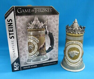 Underground Toys HBO Game of Thrones Signature Steins House Stark
