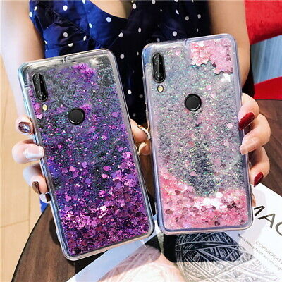 Cute Glitter Liquid Quicksand Case Cover For Xiaomi Redmi Note 8 7 6 Pro Mi 9 SE