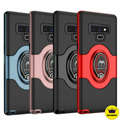 For Samsung Galaxy S9 S8 Plus Note 8 9 Shockproof Case Ring Holder Back Cover