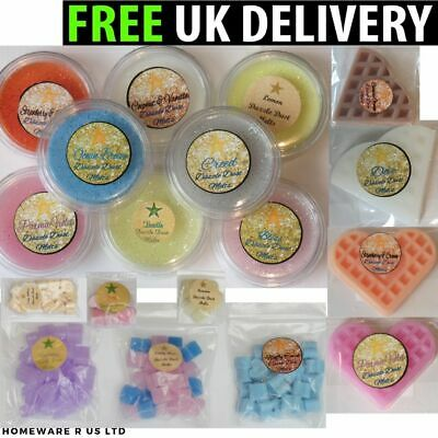 (( SOY WAX MELTS SCENTED FRAGRANCES )) buy 3 get 1 free (( MINI BAGS POTS BARS