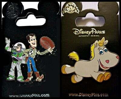 POTM WDW Disney I Heart Love Gaming Toy Story Woody Buzz Pin Of Month Lenticular