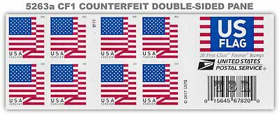 5263a (CF1) Postal Counterfeit Flag Pane of 20 BCA Design of 2018 MNH - Buy Now