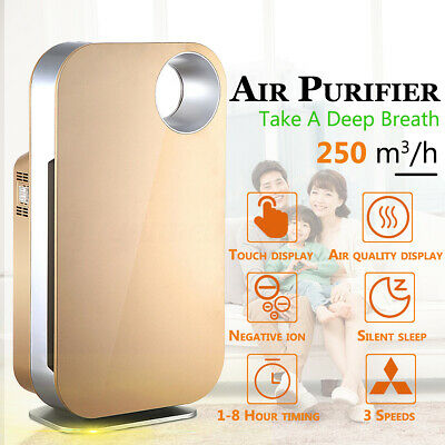 Air Purifier/Cleaner True HEPA Filter Ioniser for Medium/Large Room Home