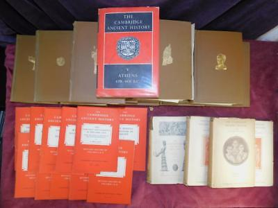 Cambridge Ancient History: 29 Books/Ancient Egypt Greece & Rome/Rare 1928 $3000+
