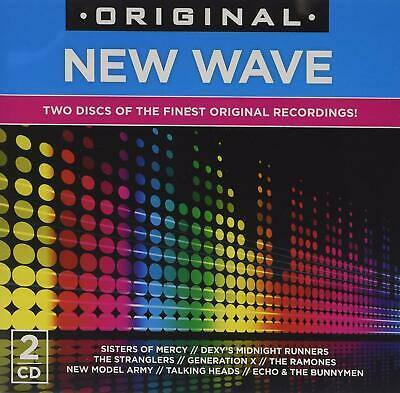 Original New Wave 2-CD NEW SEALED Buzzcocks/Stranglers/Generation X/Television+