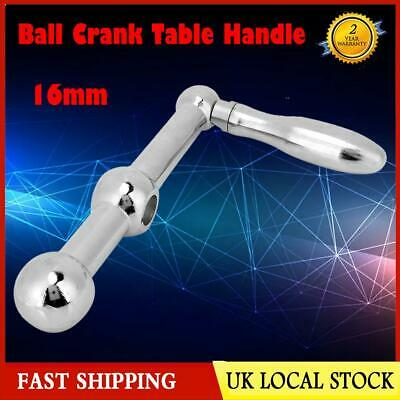Milling Machine Part Safety Ball Crank Table Handle for Bridgeport Type Mill UK