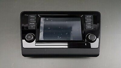 "Original Skoda Rapid Spaceback Multimedia Monitor Telefon Display 6,5"" 5JA919604"