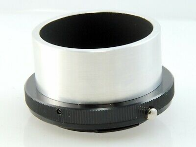 Telescope Camera Adapter. T Mount to OM. 2 inch (51mm) Sleeve Fit