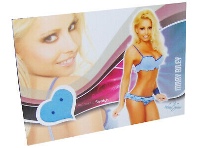 Benchwarmer MARY RILEY 2011 Bubblegum Authentic Swatch Trading Card