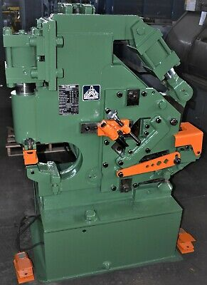 "33 Ton Hill-Acme ""Metalworker"" Hydraulic Ironworker - #28779"