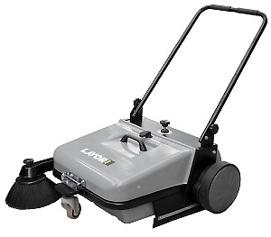 CTM BSW 651 M Pedestrian Floor Sweeper. Ideal for Dust & Leaf Sweeping.