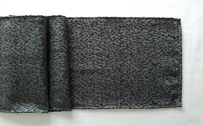 """Black textured Design Fabric Table Runners 9"""" X 55"""""""