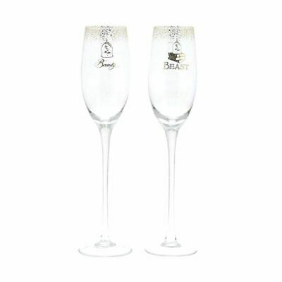 Disney Enchanting Belle Wedding Champagne Toasting Glasses - Boxed Beast