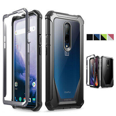 For OnePlus 6T / OnePlus 7 Pro Rugged Clear Case,Poetic® Shockproof Cover