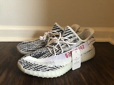 on sale b785d 36857 ADIDAS YEEZY BOOST 350 V2 Zebra Men's Athletic Shoes Size 11 New Without Box