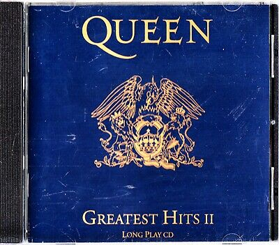 QUEEN - The Best Of Greatest Hits II/2 Long Play CD 1991 'Radio Ga Ga' Rock