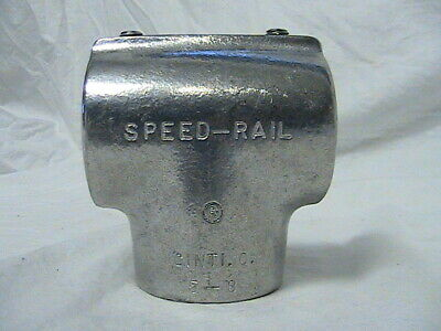 """4 Speed-Rail Cinti.O Hollaender Side Outlet Elbow Aluminum Fitting 1/"""" Pipe Marin"""