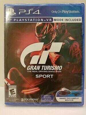 Gran Turismo: Sport The Real Driving Simulator PS4 PS VR Mode Free Shipping