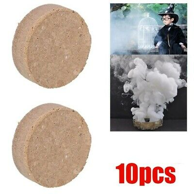 10pcs Smoke Cake White Effect Show Round Bomb Stage Photography Aid Toy Gifts