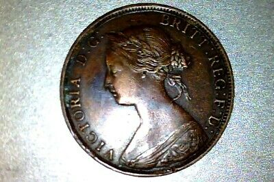 CANADA  1864 New Brunswick LARGE CENT -  AU       #Q085