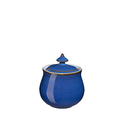 Denby Imperial Blue Covered Sugar Bowl