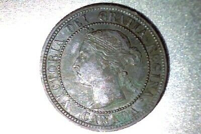 Canada  1887 Large Cent  Xf  #Q106