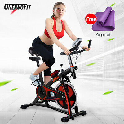 Exercise Bike Cycling Fitness Home Gym Cardio Training Workout Health OT018R