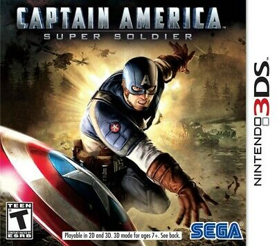 Captain America: Super Soldier - Nintendo 3DS Game Only