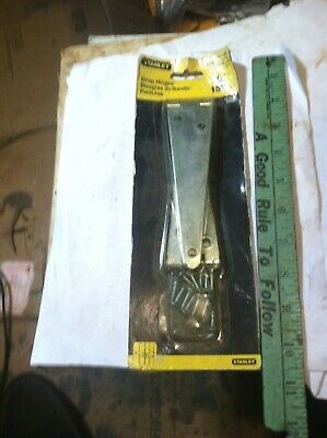 "2 new old stock Stanley (6"") Strap Hinges Gate Barn Door Shed"
