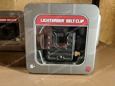 Disneyland Star Wars Galaxy Edge Lightsaber Belt Clip Hilt Holster