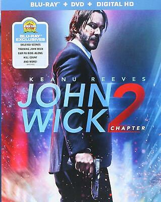 John Wick Chapter 2 2017 Keanu Reeves Ian McShane R Blu-ray Number of discs 2