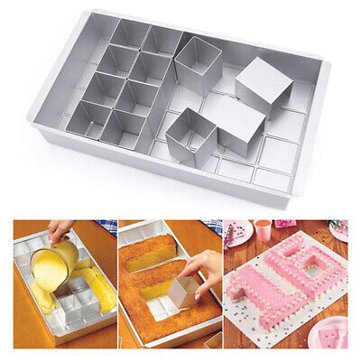 Home Cookware, Dining & Bar Supplies Large Aluminum Alloy Cake Baking Mould Number Tins Alphabet Letter Pan Mold Tool