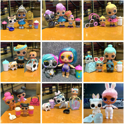 Lot LOL Surprise UNICORN Splatters Kitty Queen Bee Dolls & pet  Family Toys Gift