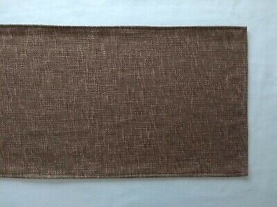 """Brown Woven Design Fabric Table Runners 12"""" X 51"""""""