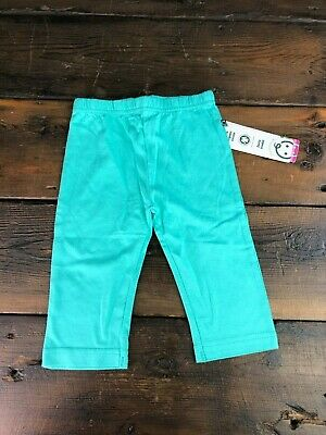 NWT Greenbaby Leggings Trousers Organic Cotton 6-12 months Easy Pull Up Comfy