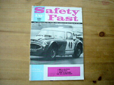 Safety Fast, Apr 1967; MG & Austin-Healey BMC factory-issued magazine, very good