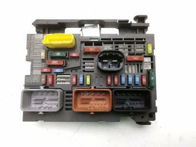 Peugeot 3008 MK1 (Ph1) 1.6 4-Cyl 16v Diesel 2010 Fuse Box - 9667044980 (#6308)