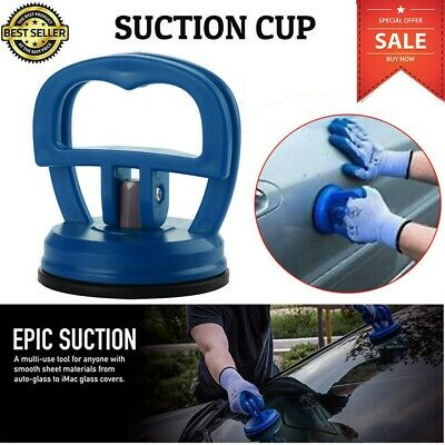 Blue Mini Dent Puller Bodywork Panel Remover Tool Car Suction Cup Glass Removal