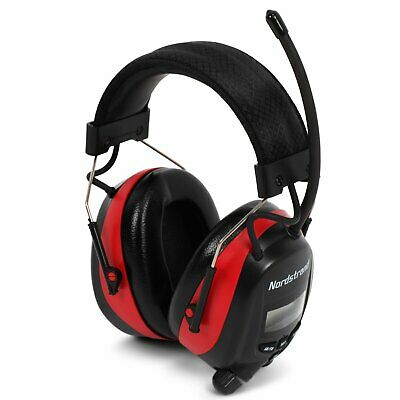 Electric Ear Defenders Earmuffs With/ FM/AM Digital Radio Builtin Mic Protection