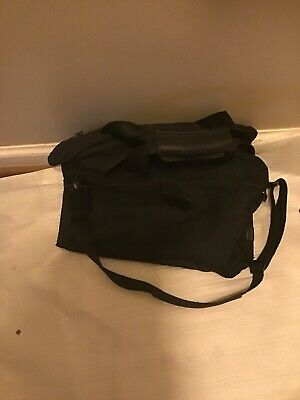 Tumi Luggage Suitcase Travel Bag Black Ballistic Nylon Duffel Briefcase Carry On